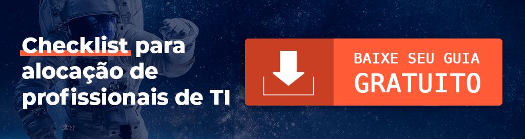 Gateware - GW Outsourcing - Checklist para alocação de profissionais de TI - Baixe seu guia gratuito